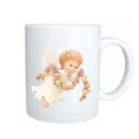 Taza angel cadeneta