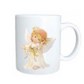 Taza angel timido