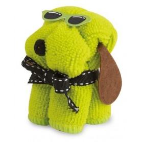 Toalla perrito gafas
