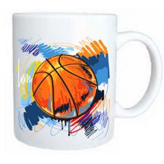 Taza baloncesto