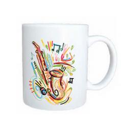 Taza saxofon