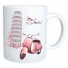 Taza romantica italia