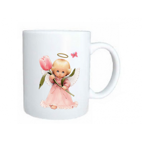 Taza angel tulipan