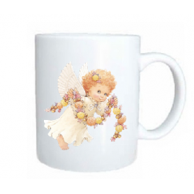 Taza angel cadeneta