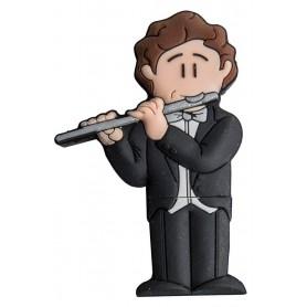 Usb de 8 Gb Musico Flauta