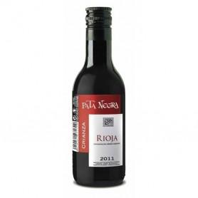 Botellin Vino Tinto Crianza Pata Negra