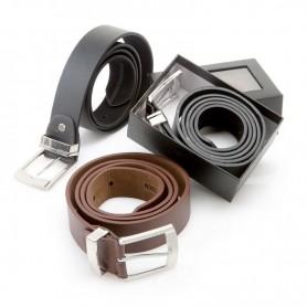 Cinturon para hombre en elegante caja