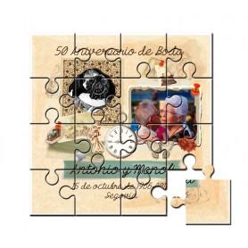 Puzzle 50 aniversario de boda