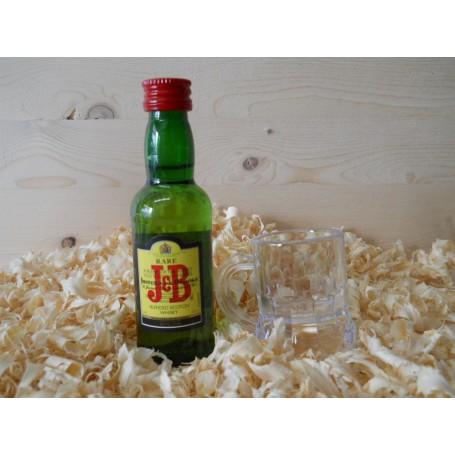 Botelin miniatura Whisky JB
