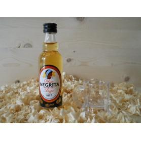 Botellin miniatura Ron Negrita Dorado