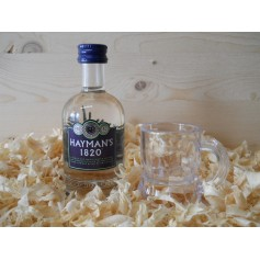 Botellin miniatura Ginebra Gin Liqueur Hatman´s