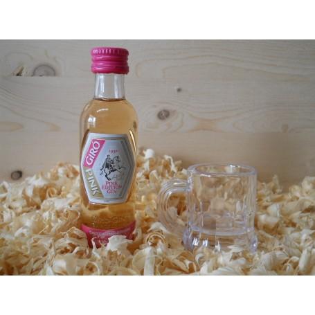 Botellin miniatura Ginebra Giro Pink