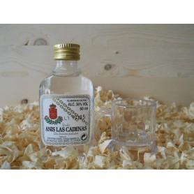 Botellin miniatura Anis Las Cadenas