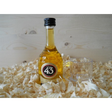 Botellines miniaturas Licor 43