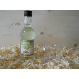 Miniatura botellin Licor Manzana Verde Cruz Conde