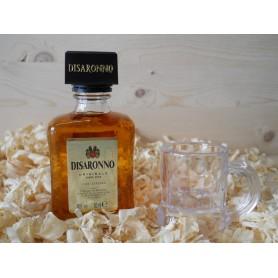 Botellin miniatura Licor Disaronno de almendra