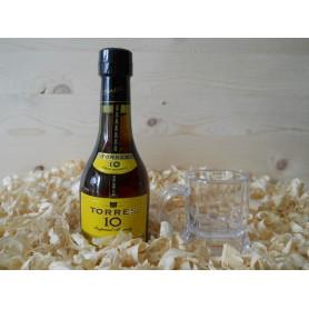 Botellin miniatura Coñac Torres 10