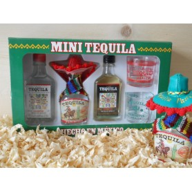 Estuche con 4 mini cremas Collection Tequila