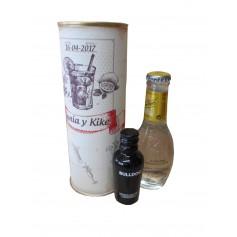 Pack Gin Tonic Schweppes Premium con Ginebra Gin Bulldog en lata personalizada