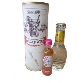 Pack Gin Tonic Schweppes Premium con Ginebra Giró Pink en lata