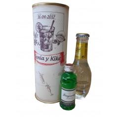 Pack Gin Tonic Schweppes Premium con Ginebra Tanqueray Rangpur en lata personalizada
