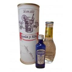 Pack Gin Tonic Schweppes Premium con Ginebra Larios 12 en lata personalizada