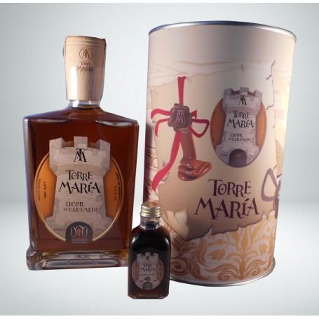 Licor de Caramelo Torre María en lata con abre fácil