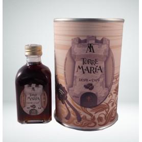 Licor de Café Torre María de 5cl en lata personalizada con abre fácil