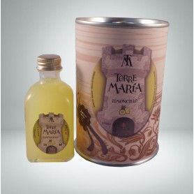 Licor Limonchelo Torre María de 5cl en lata personalizada con abre fácil