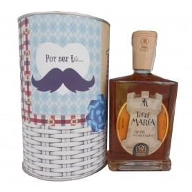 Licor de Caramelo Torre María en lata con abre fácil para regalo hombre