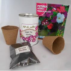 Kit de cultivo Petunias para detalles de invitados originales