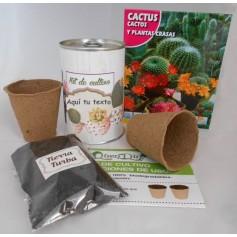Kit de cultivo Cactus para detalles originales