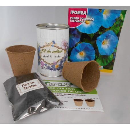 Kit de cultivo Ipomea para regalos invitados