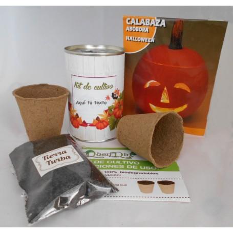 Kit de cultivo Calabaza HALLOWEEN para detalle original de boda