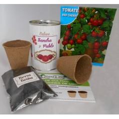Kit de cultivo Tomate Cherry para regalos invitados