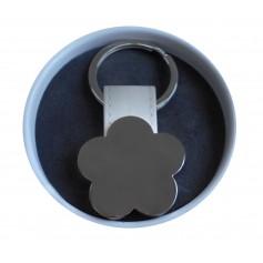 Llavero flor para detalles de tus invitados en original lata personalizada