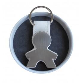 Llavero Personalizado con Forma de Niño en lata con abre fácil