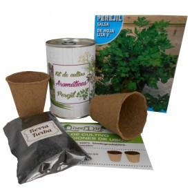 Kit de cultivo Perejil original detalle para tus invitados