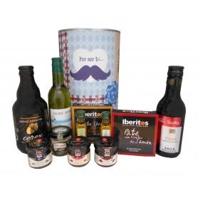 Productos gourmet en lata para regalo