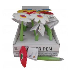 Bolígrafo flor