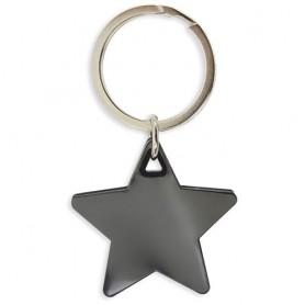 Llavero en forma de estrella para detalles invitados