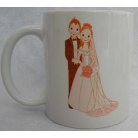 Taza o Mugs personalizado boda.