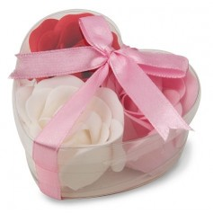 Estuche jabón rosas