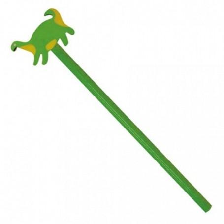 Lapiz con goma dinosaurio