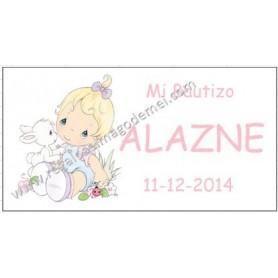 Etiqueta para detalles de Bautizo