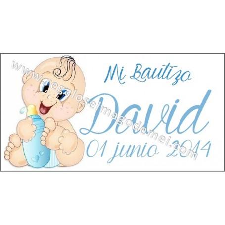 Tarjeta Bautizo nene