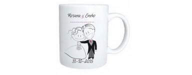 Mugs y tazas personalizadas para BODAS.