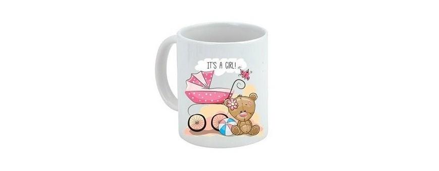 Mugs y tazas personalizadas para BAUTIZOS.
