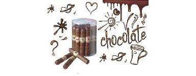Vitolas para puros de chocolate