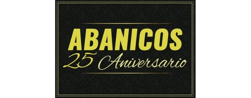 Abanicos personalizados 25 aniversario
